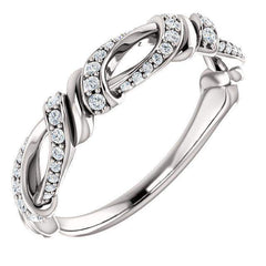 1/5 CTW Diamond Anniversary Band-Bel Viaggio Designs, LLC