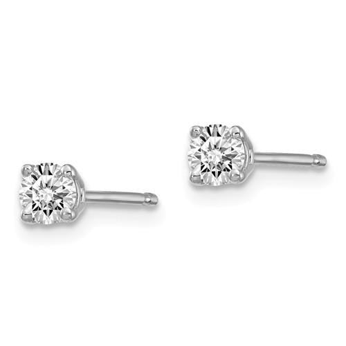 1/5 ctw Lab Grown Diamond Stud Earrings-Bel Viaggio Designs