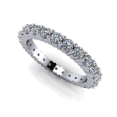 1.50 CTW Round Forever One Moissanite Eternity Band-Bel Viaggio Designs, LLC