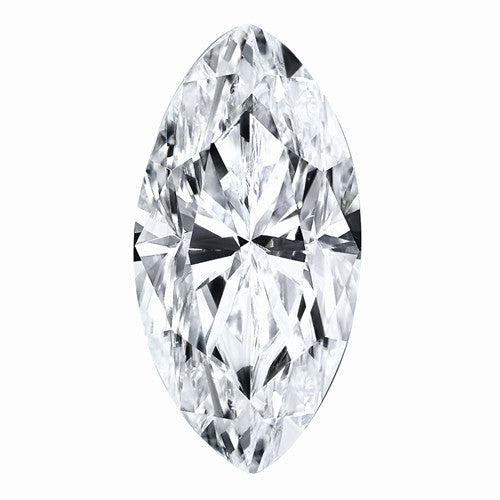 Loose Colorless Moissanite Marquise Cut Stone 1.00 ct-Bel Viaggio Designs
