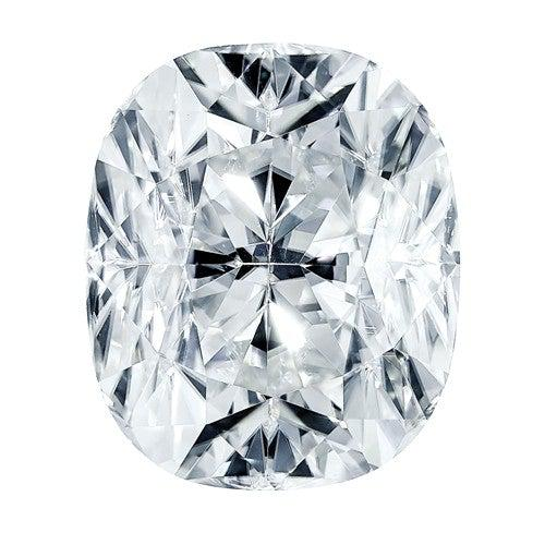 Loose Colorless Moissanite Elongated Cushion Cut 5.00 ct-Bel Viaggio Designs