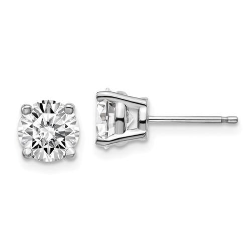 2.00 ctw Lab Grown Diamond Stud Earrings-Bel Viaggio Designs