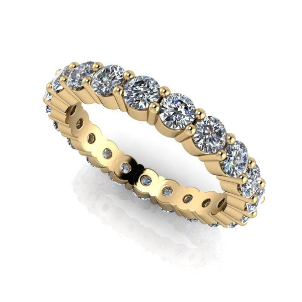 2.00 CTW Round Forever One Moissanite Eternity Band-BVD