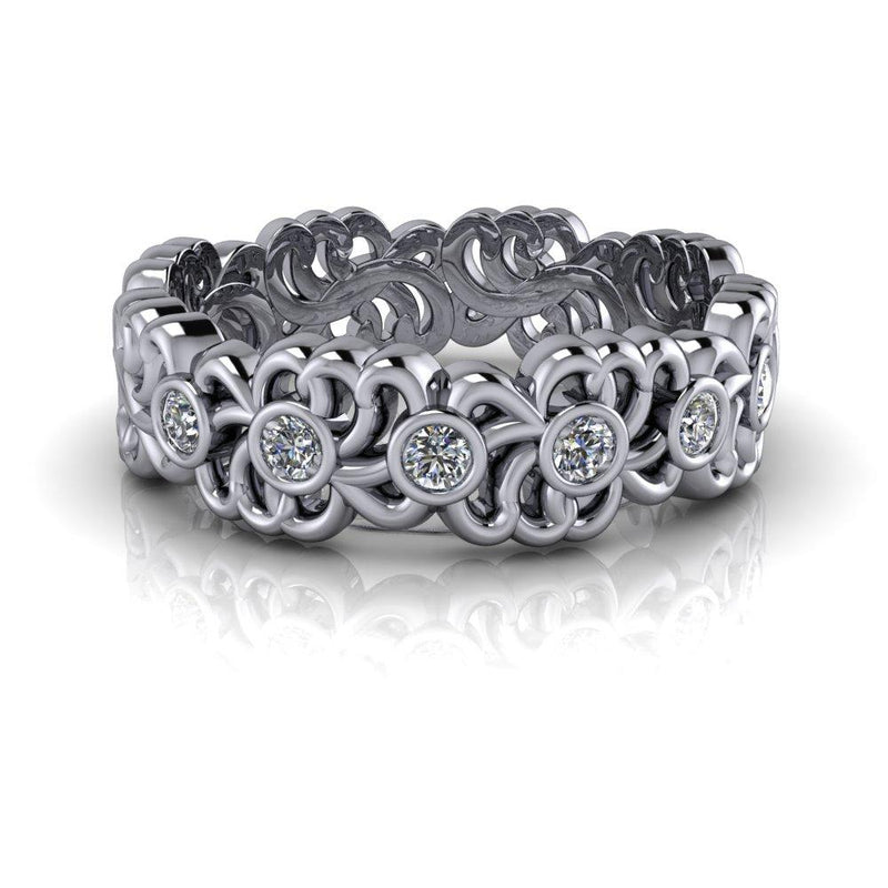 .21 CTW Lab Grown Diamond Anniversary Band-Bel Viaggio Designs