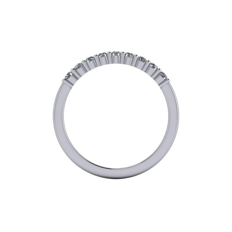.27 CTW Women's Wedding Band Lab Grown Diamond-Bel Viaggio Designs