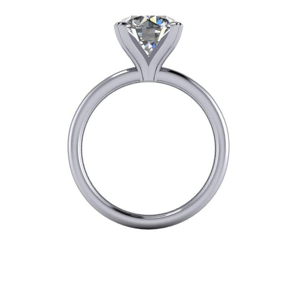 2.70 CTW Round Forever One Moissanite Ring, Insieme Bridal Stackables®-BVD