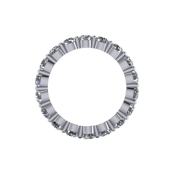 2.95 CTW Round Forever One Moissanite Eternity Band-Bel Viaggio Designs