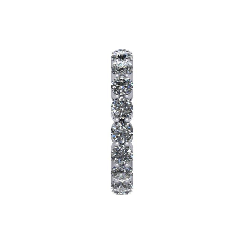 2.95 CTW Round Forever One Moissanite Eternity Band-Bel Viaggio Designs, LLC