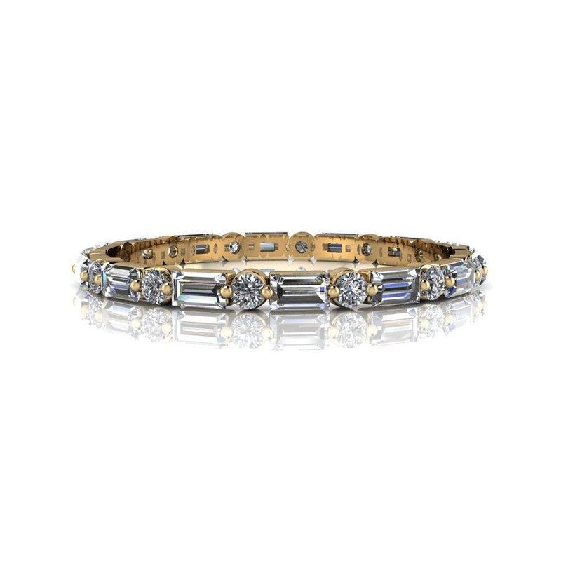 .78 CTW Lab Grown Diamond Wedding Band, Stacking Ring-Bel Viaggio Designs