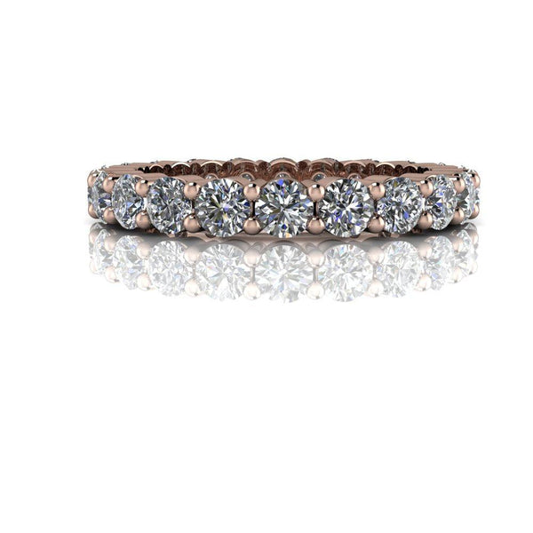 2.00 CTW Round Forever One Moissanite Eternity Band-Bel Viaggio