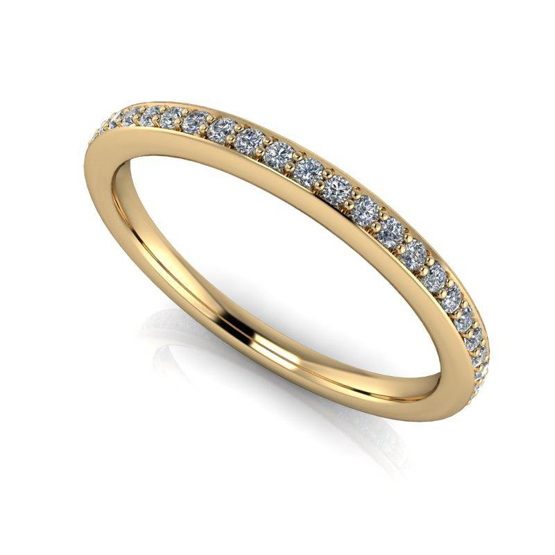 .35 CTW Eternity Band Round Lab Grown Diamond-Bel Viaggio Designs