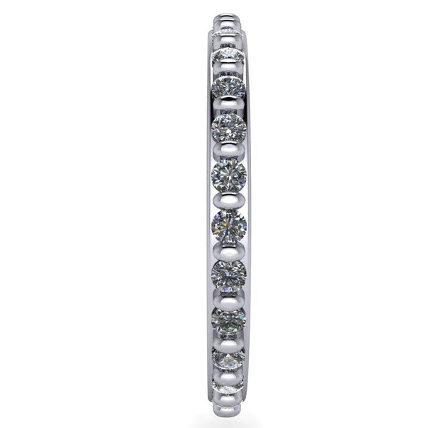 .40 CTW Lab Grown Diamond Wedding Band, Eternity Band, Insieme Bridal Stackables®-Bel Viaggio Designs