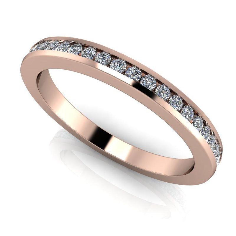 .40 CTW Lab Grown Diamond Eternity Band, Channel Set-Bel Viaggio Designs