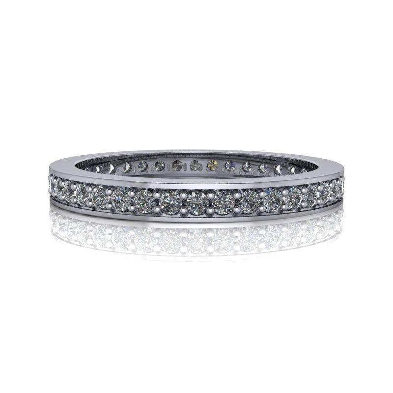 Lab Grown Diamond Wedding Band .40 ctw-Bel Viaggio Designs