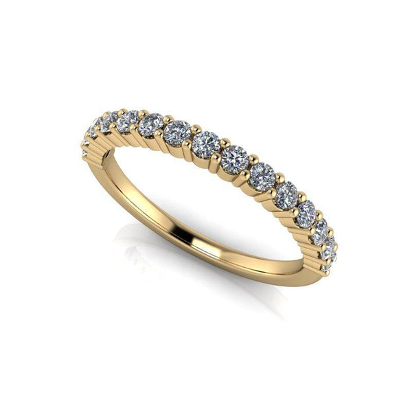 .45 CTW Women's Wedding Band Round Forever One Moissanite Ring-BVD