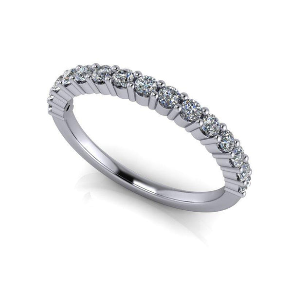 .45 CTW Women's Wedding Band Lab Grown Diamond-Bel Viaggio Designs