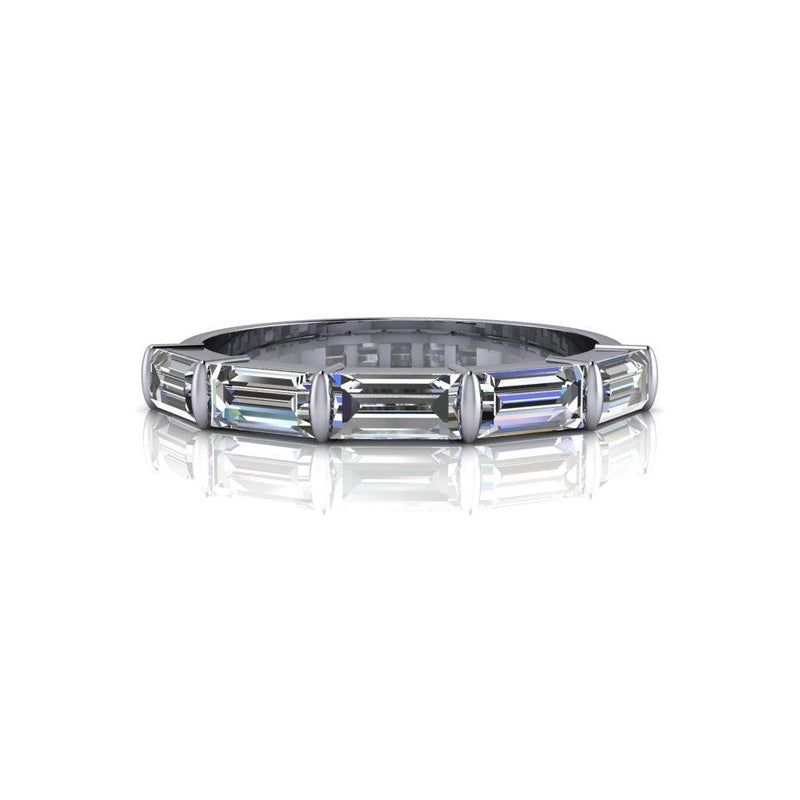 Lab Grown Diamond Wedding Band, Anniversary Ring 1.20 ctw-Bel Viaggio Designs