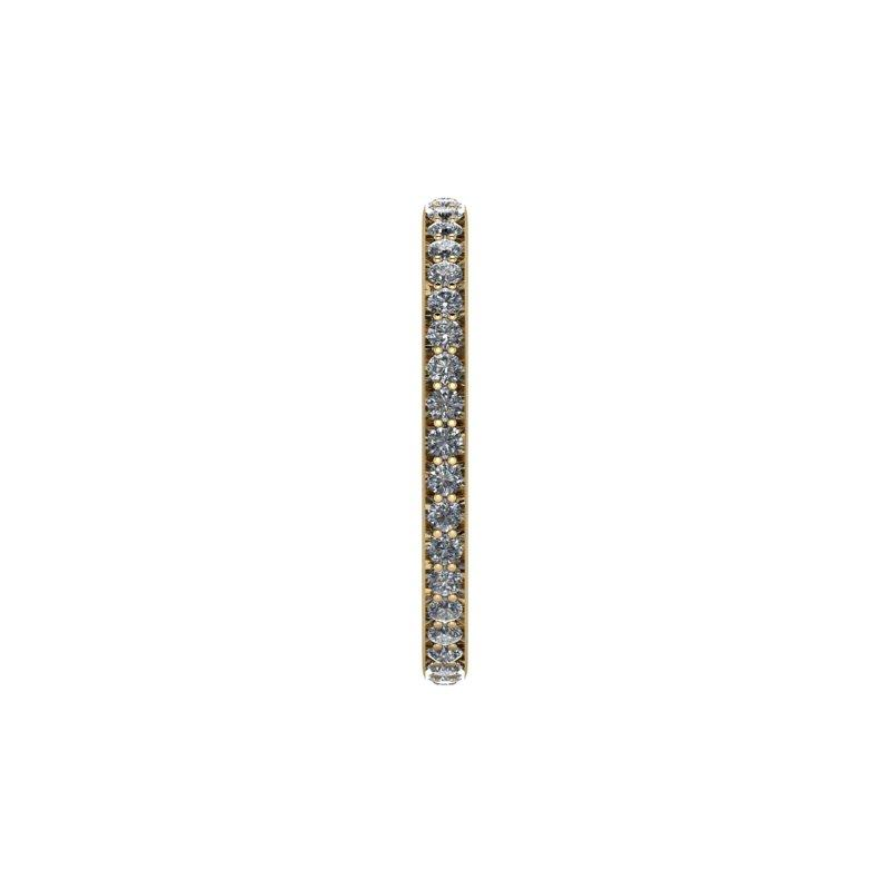 .50 CTW Forever One Moissanite Eternity Band, Wedding Ring-Bel Viaggio Designs, LLC