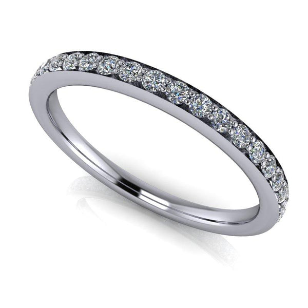 .50 CTW Forever One Moissanite Eternity Band, Wedding Ring-BVD