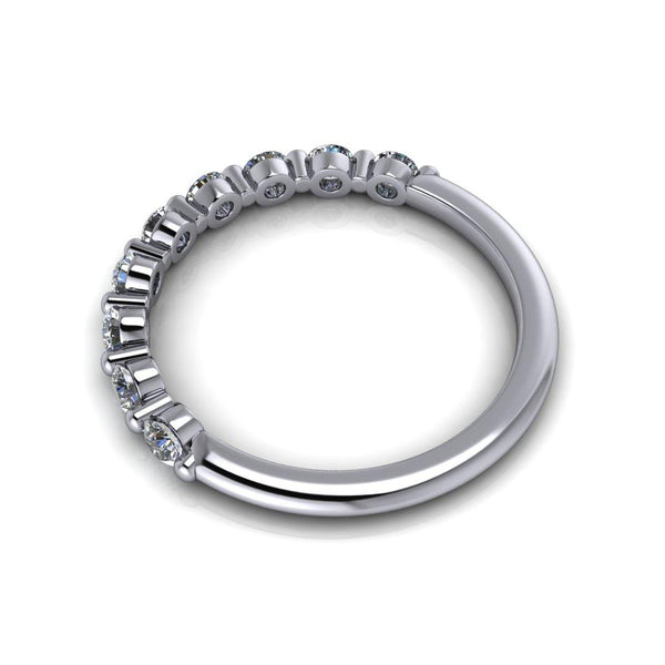 .50 CTW Lab Grown Diamond Wedding Band-Bel Viaggio Designs