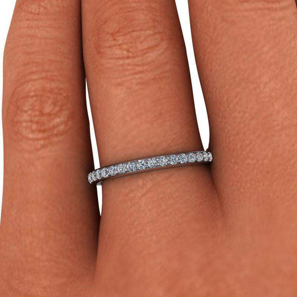 .50 CTW Lab Grown Diamond Eternity Band Insieme Bridal Stackables®-Bel Viaggio Designs