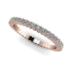.55 CTW Round Forever One Moissanite Eternity Band-Bel Viaggio Designs, LLC