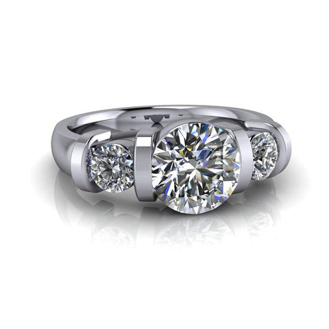 2.00 CTW Charles & Colvard Moissanite Anniversary Ring or Engagement Ring-Bel Viaggio