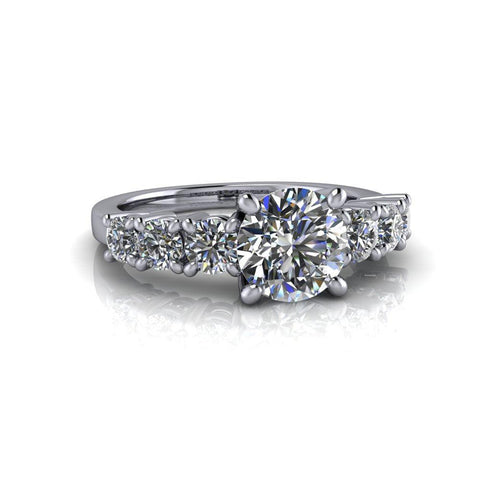 2.05 CTW Charles & Colvard Moissanite Engagement Ring or Anniversary Ring-Bel Viaggio
