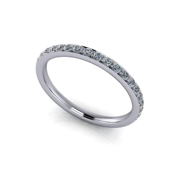 .70 CTW Lab Grown Diamond Eternity Band, Insieme Bridal Stackables®-Bel Viaggio Designs