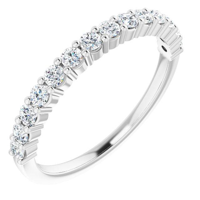 Lab Grown Diamond Anniversary Band 3/8 ctw-Bel Viaggio Designs