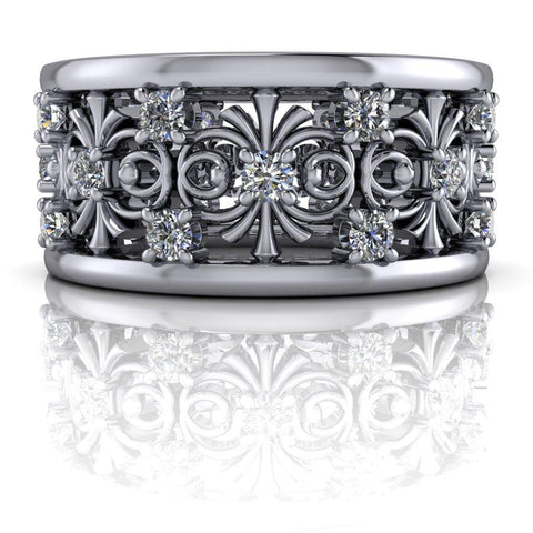 .75 CTW Lab Grown Diamond Anniversary Band-Bel Viaggio Designs