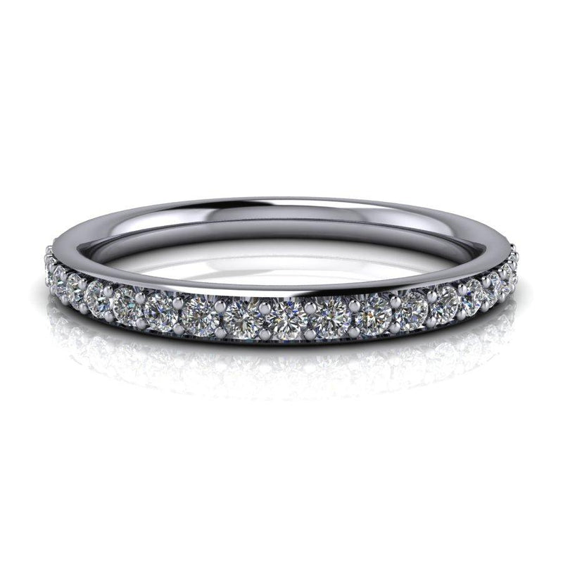 .75 CTW Lab Grown Genuine Diamond Eternity Band-Bel Viaggio Designs