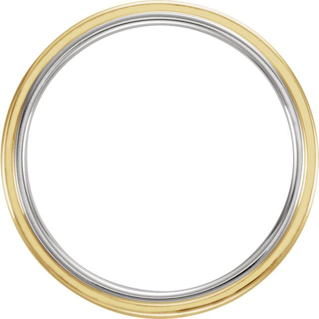 7.5mm Men's Wedding Band - Gold Band-Bel Viaggio Designs