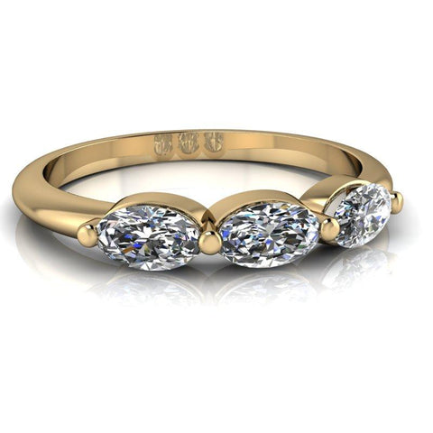 .78 CTW Moissanite Stacking Ring, Insieme Bridal Stackables®-BVD