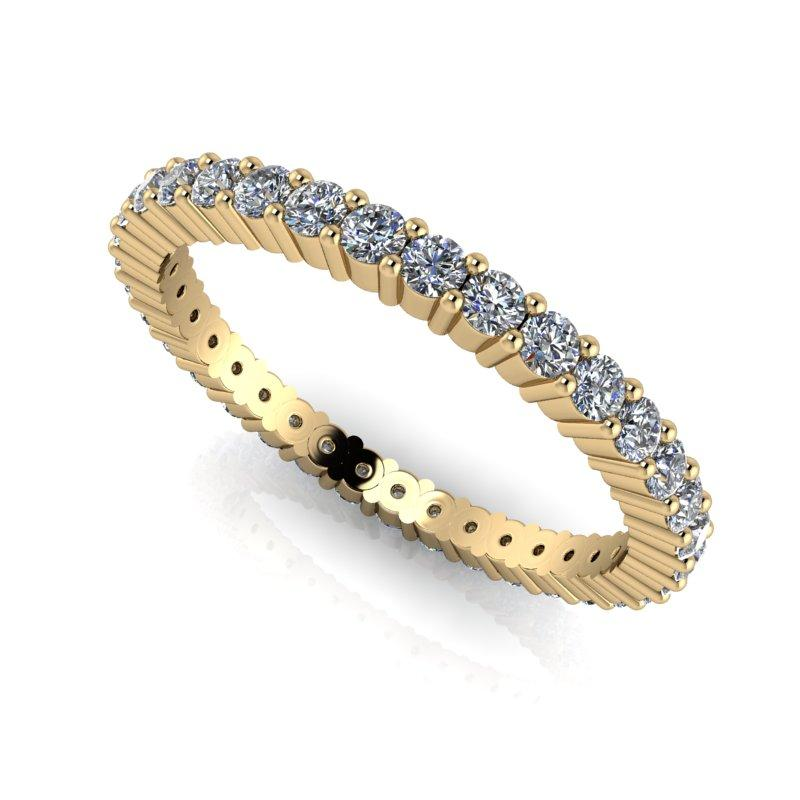 .80 CTW Lab Grown Diamond Wedding Band Eternity Band-Bel Viaggio Designs
