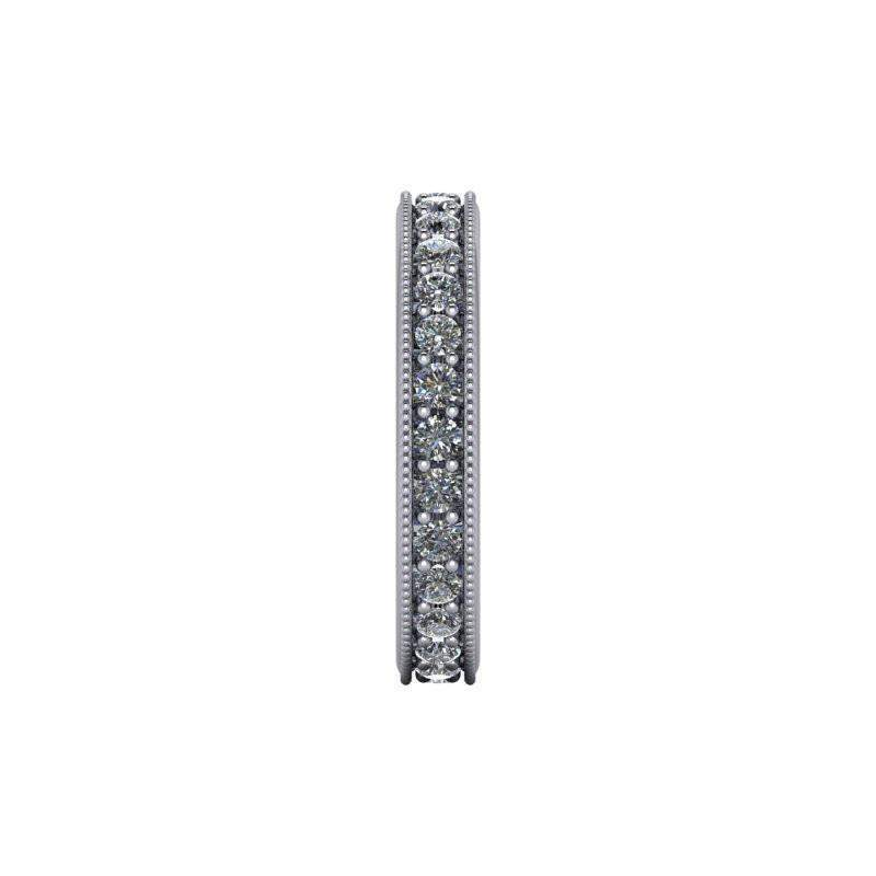 .84 CTW Women's Eternity Wedding Band Lab Grown Diamond-Bel Viaggio Designs