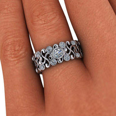 .88 ctw Diamond Wedding Band or Anniversary Ring-Bel Viaggio Designs, LLC