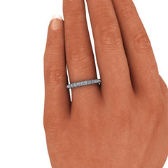.90 CTW Round Forever One Moissanite Eternity Band-BVD