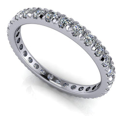 .90 CTW Round Forever One Moissanite Eternity Band-Bel Viaggio Designs, LLC
