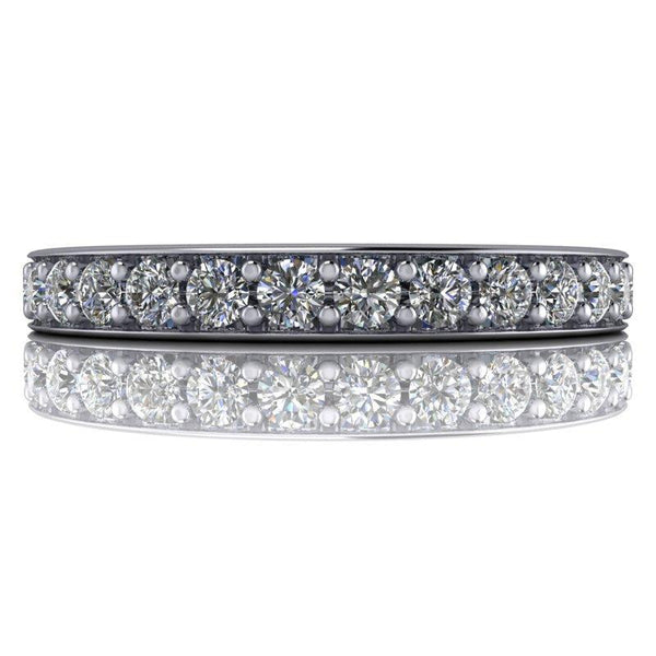 .93 CTW Lab Grown Diamond Eternity Band F/VS-Bel Viaggio Designs