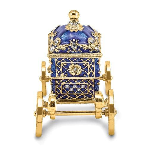 Carriage Trinket Box Ring Holder-Bel Viaggio Designs