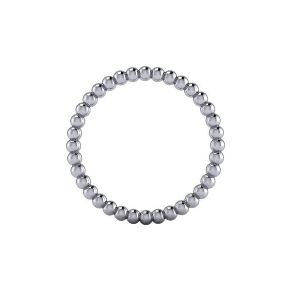 Beaded Women's Wedding Band Insieme Bridal Stackables®-BVD