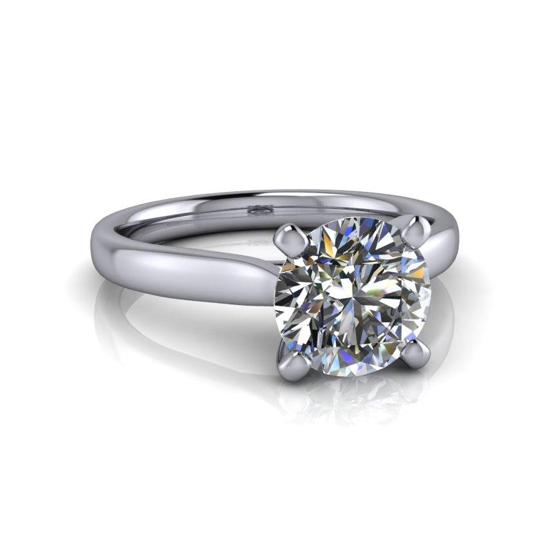 Charles & Colvard Moissanite Engagement Ring 1.50 ctw-Bel Viaggio Designs