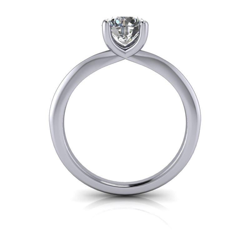 Charles & Colvard Moissanite Engagement Ring, Wedding Band 1.92 ctw-Bel Viaggio Designs