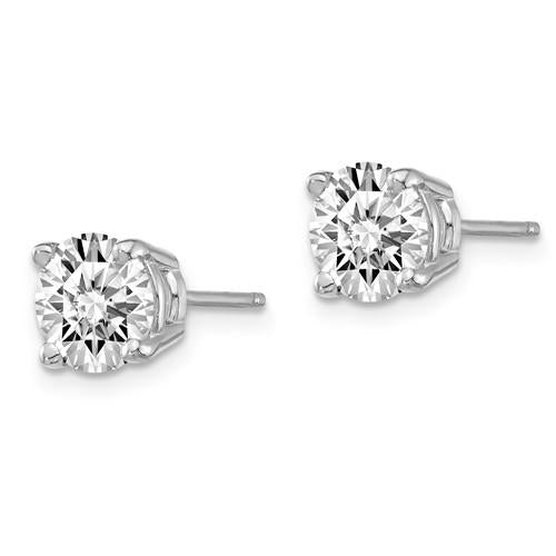 Diamond Earrings 1.00 CTW, Stud Earrings, DEF Color-BVD