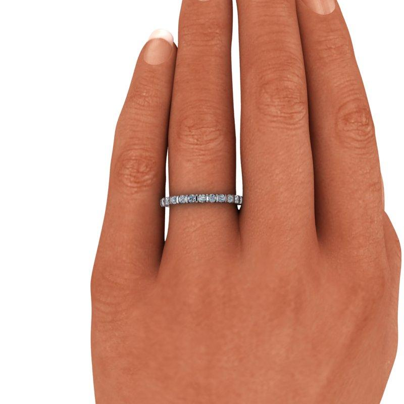 Forever One Moissanite Wedding Band .40 ctw-BVD