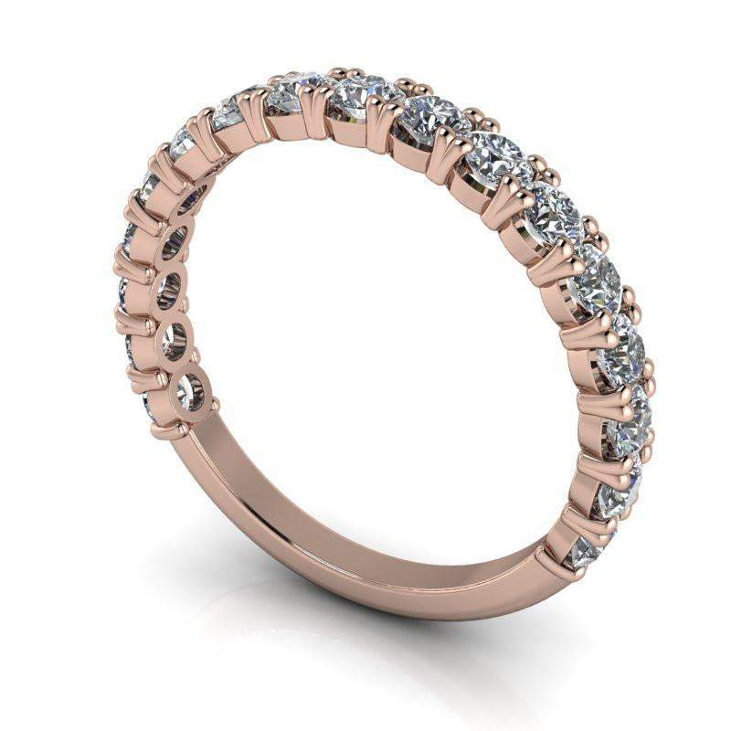 Insieme Bridal™ Stackables Partial Eternity Stacking Band .99 CTW-Bel Viaggio Designs, LLC