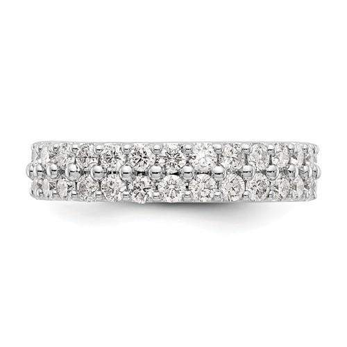 Lab Grown Diamond Double Row Eternity Ring 2 CTW - Diamond Eternity Band-BVD