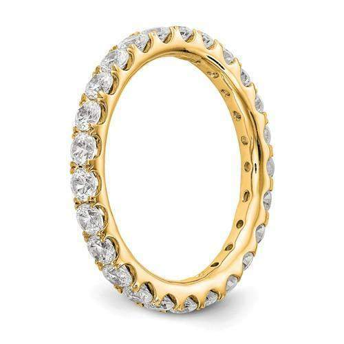 Lab Grown Diamond Eternity Ring 1.50 CTW - Diamond Eternity Band-Bel Viaggio Designs