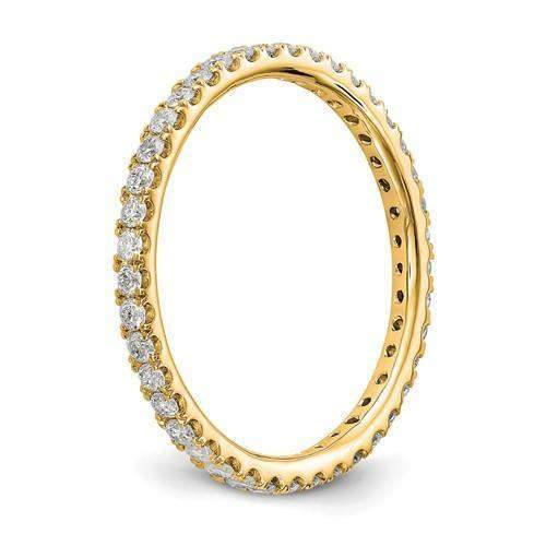 Lab Grown Diamond Eternity Ring .50 CTW - Diamond Eternity Band-Bel Viaggio Designs